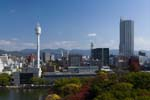 To the right is tallest building in Hiroshima, Urban View Grand Tower